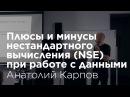 Анатолий Карпов: Плюсы и минусы нестандартного вычисления (NSE) при работе с данными.
