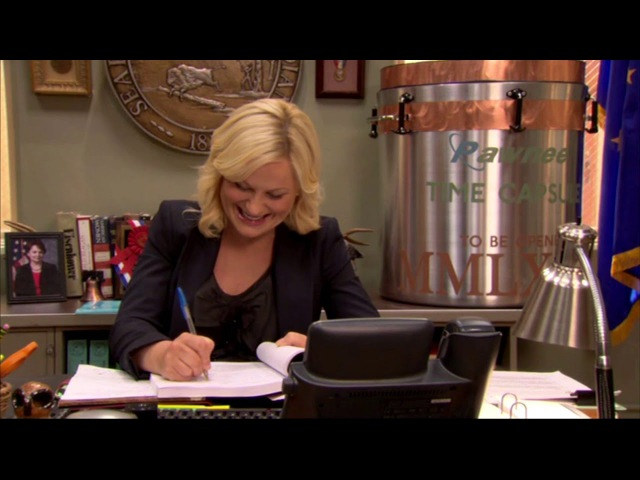 Amy Poehler Laugh Parks and Recreation Bloopers (Compilation)