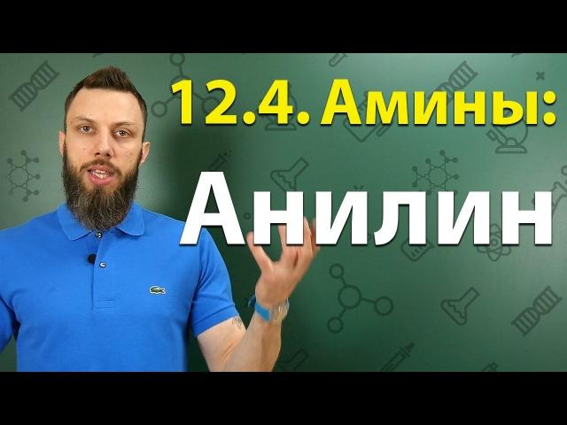12.4. Анилин: Строение, химические свойства, способы получения. ЕГЭ по химии