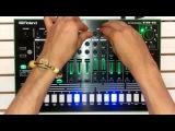 Tr-8 &amp Ableton Dark Techno Jam With Custom Samples