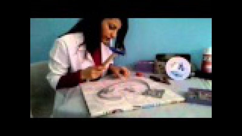 Filografi Sanatı Çivi Çakma İşlemi
