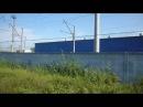 Моторвагонное депо Нахабино Вид из окна электрички