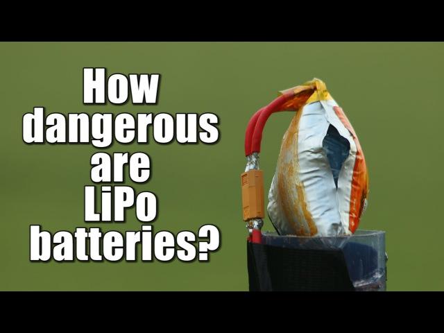 How dangerous are LiPo batteries? || Overcharge, Overdischarge, Short Circuit