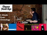Queens of the Stone Age - 6 Minute Drum Chronology - by Jamie Warren
