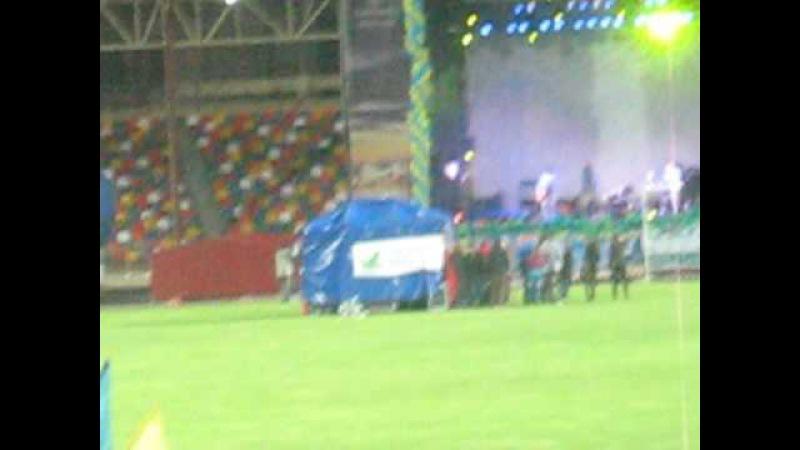 дзідзьо відкриває стадіон на Євро 2012