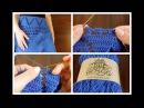 Летняя филейная юбка крючком | Школа вязания