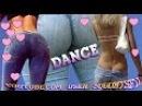 Girl wagging her ass - booty dance / Бути денс танцует одна попа