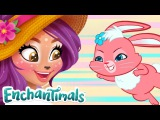 Cartoons for Children  Enchantimals Toys Character Compilation!