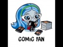 Monster High Ghoulia Yelps New Limited Stickers for iPad iPhone