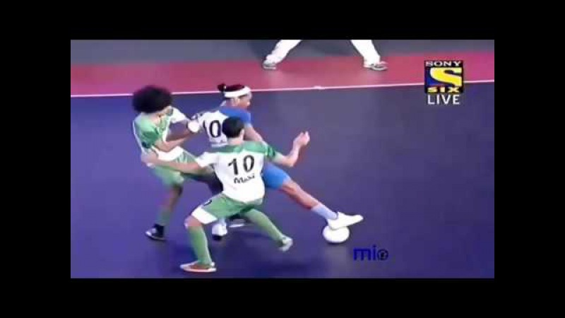 Penta Trick 5 Goals Ronaldinho The MINI FOOTBALL INDIA HD