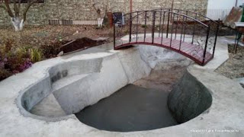 Как самому сделать красивый водоем на своем участке недорогой искусственный пруд