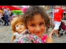 Новая кукла Алис старая фарфоровая кукла Куча игрушек на базаре в маленьком бе