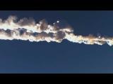 Челябинский метеорит 15.02.2013 ударная волна