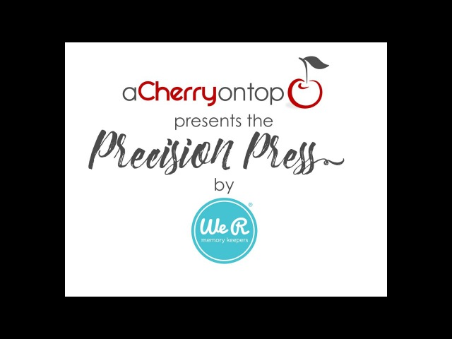 We R Memory Keeper's Precision Press Stamping Tool