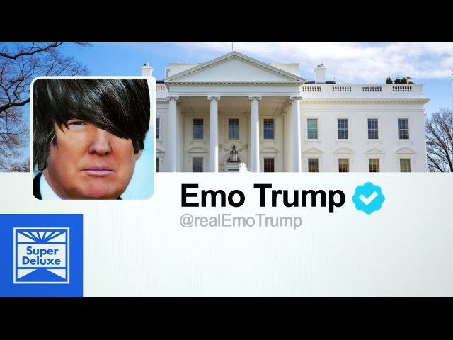 Donald Trumps Tweets As An Early 2000s Emo Song