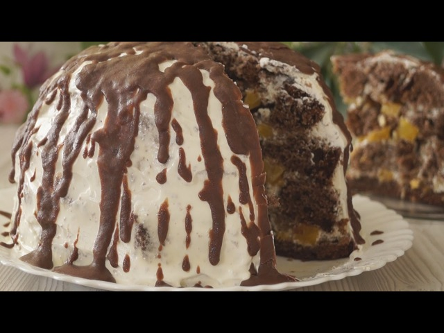Торт Панчо с ананасами. Безумно вкусно и просто!