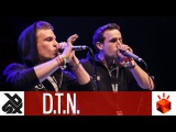 D.T.N. (NIN'OZ &amp ANDRO)   Grand Beatbox TAG TEAM Battle 2017    Elimination