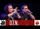 D.T.N. (NIN'OZ ANDRO) | Grand Beatbox TAG TEAM Battle 2017 | Elimination