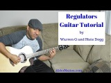 Regulators Guitar Tutorial by Warren G and Nate Dogg