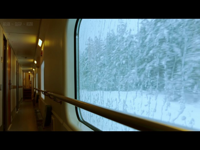 Relaxing Train Journey - 10 Hrs Video w/ Soothing Sounds for Relaxation, Meditation, Study and Sleep