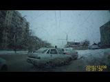 Драка после ДТП Оренбург 09.12.2016