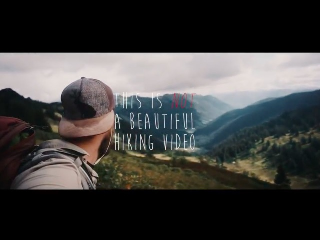 This is not a beautiful hiking video A Pacific Crest Trail Thru Hike