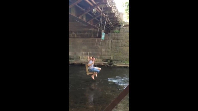 Take a ride under the bridge