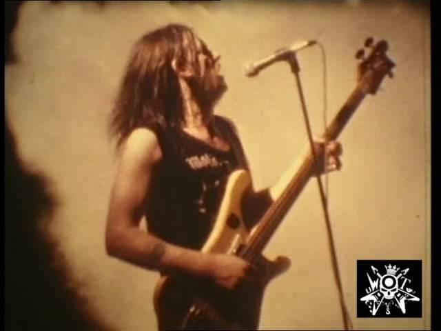 Motorhead live 1976 Maidstone, Mid Kent College, England - tribute to Lemmy, Fast Eddie Phil uWoT