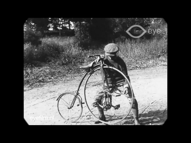 1818 to 1890s Bicycle Models (from 1915 documentary)