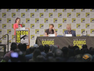 X Files Panel  David Duchovny and Dirk Maggs Comic Con International  San Diego 2017