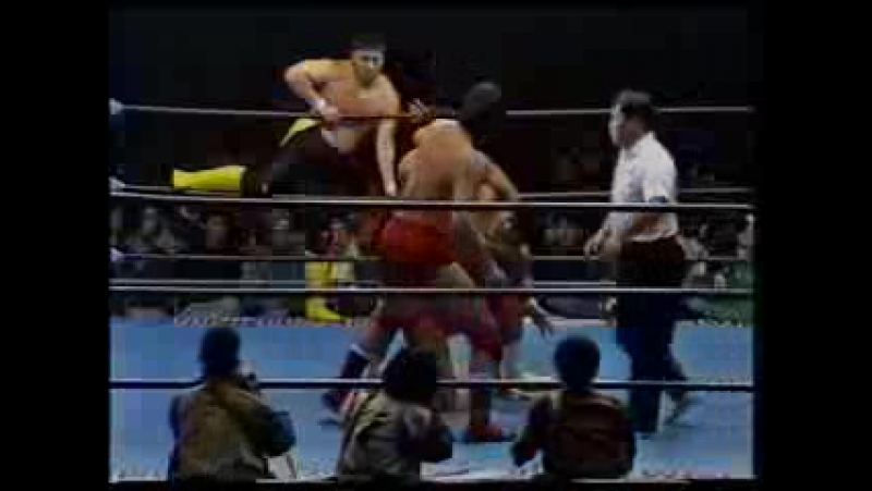 Mitsuharu Misawa, Kenta Kobashi, Jun Akiyama vs Toshiaki Kawada, Akira Taue, Takao Omori