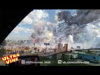 Ultra Vine #1477 Взрыв на рынке фейерверков в Мексике