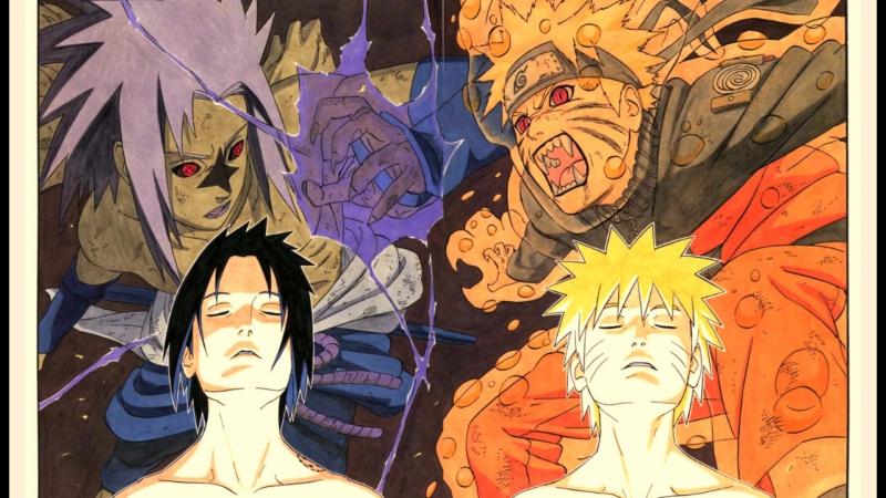 Наруто Ураганные Хроники Naruto Shippuden Naruto VS Sasuke OST 3 Junkyousha Martyr