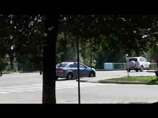 Скрытое патрулирование в Усть-Каменогорске с нарушением ПДД