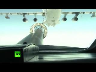 Самолеты ВКС России выпускают крылатые ракеты по позициям террористов в Сирии