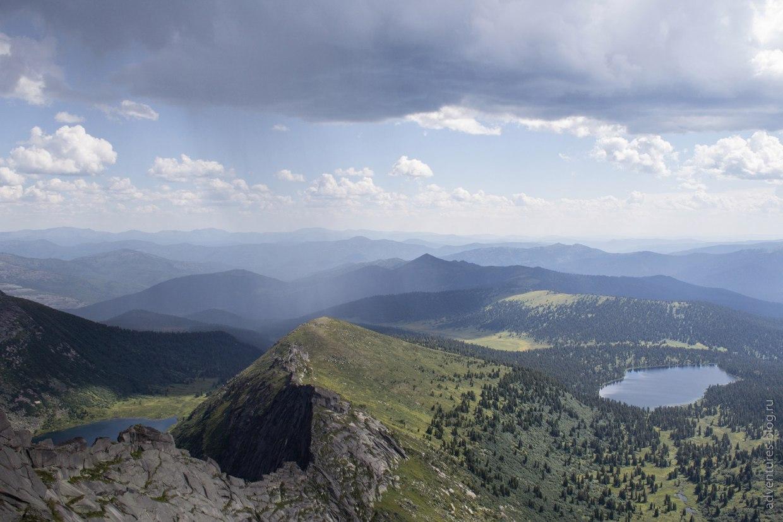 Видовка и озеро Светлое с пика Звездный