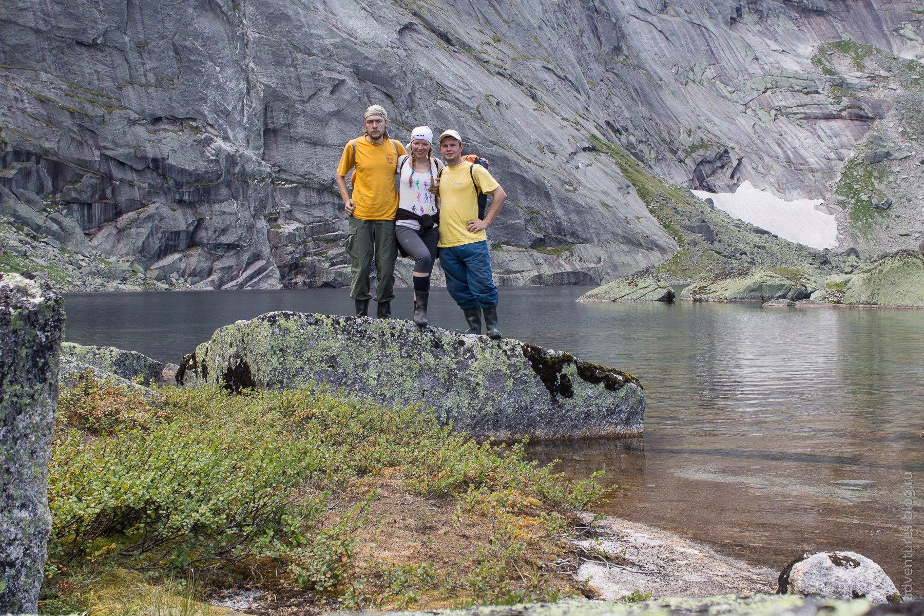 Дачники на озере Ледяное