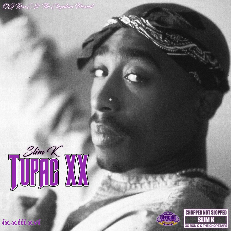 Chopstars - Tupac XX (Chopped Not Slopped) - 2016