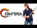 Contra (nesdendy) - All stages OST Metal cover. With gameplay.