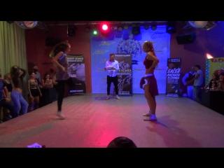 Copa Blanca-V, Reggaeton-intermediats-chicas-battle