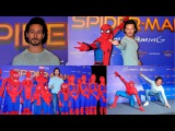UNCUT  Spider-Man Homecoming Hindi Press Conference  Tiger Shroff Lend His Voice For Spider Man