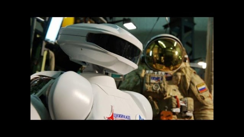 Russian Robot SAR-400 - First Steps In Space