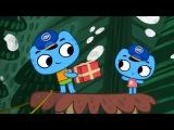 Мультфильмы для Малышей - Котики вперед! - Мяу-мяу экспресс (7 серия)