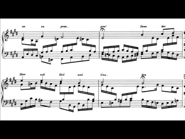 Johannes Brahms - Eleven Chorale Preludes for organ, Op. 122 (1896)