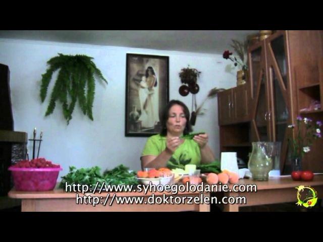 Виктория Бутенко Как правильно приготовить зеленый коктейль (мастер-класс).