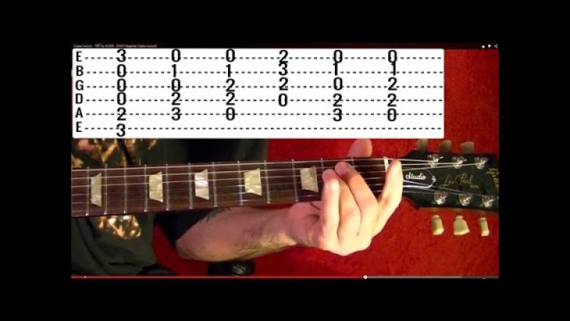 Something by THE BEATLES - Guitar Lesson - George Harrison - Paul McCartney