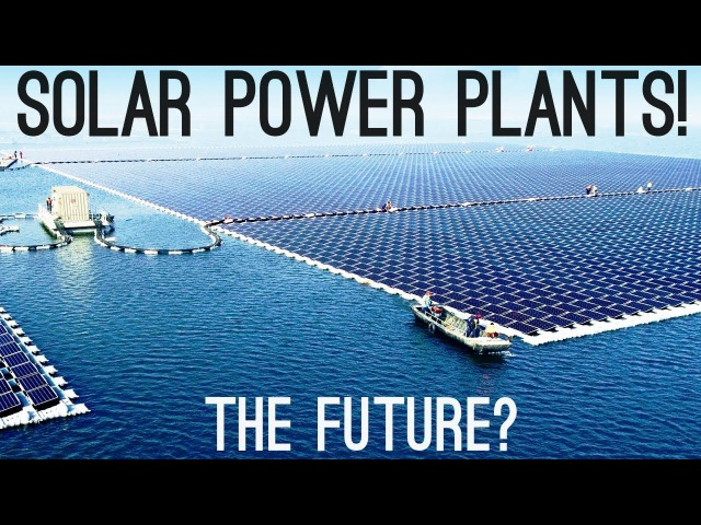 Solar Power Plants The Next Big Thing