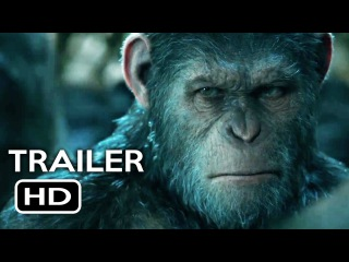 War for the Planet of the Apes Official Trailer 1 (2017) Action Movie HD