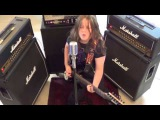Metallica  Spit Out the Bone cover by Callum the Heavy Metal Kid (11)