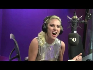 Lady Gaga - Perfect Illusion LIVE BBC RADIO